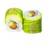 Dragon roll saumon avocat