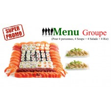 Menu Groupe